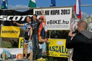 """Kovács """"Pityikusz"""" István ismét dobogóra állhatott (fotó: Bike pont)"""