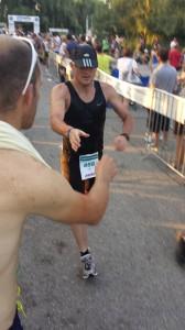 István a 42km-es futásnál