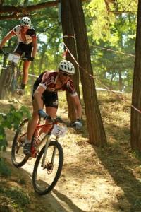 Wouter Cleppe (RAM Bikes) az első körökben még csak felmérte az erőviszonyokat, majd átvette a vezetést