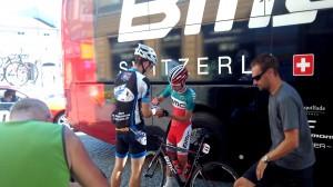A regnáló olasz bajnok Santaromita készséges volt