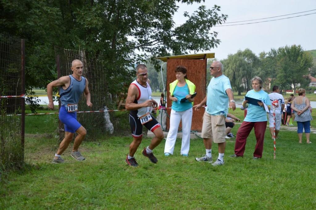 Tuli és Szabolcs egyszerre indulnak a 6km-es futásra